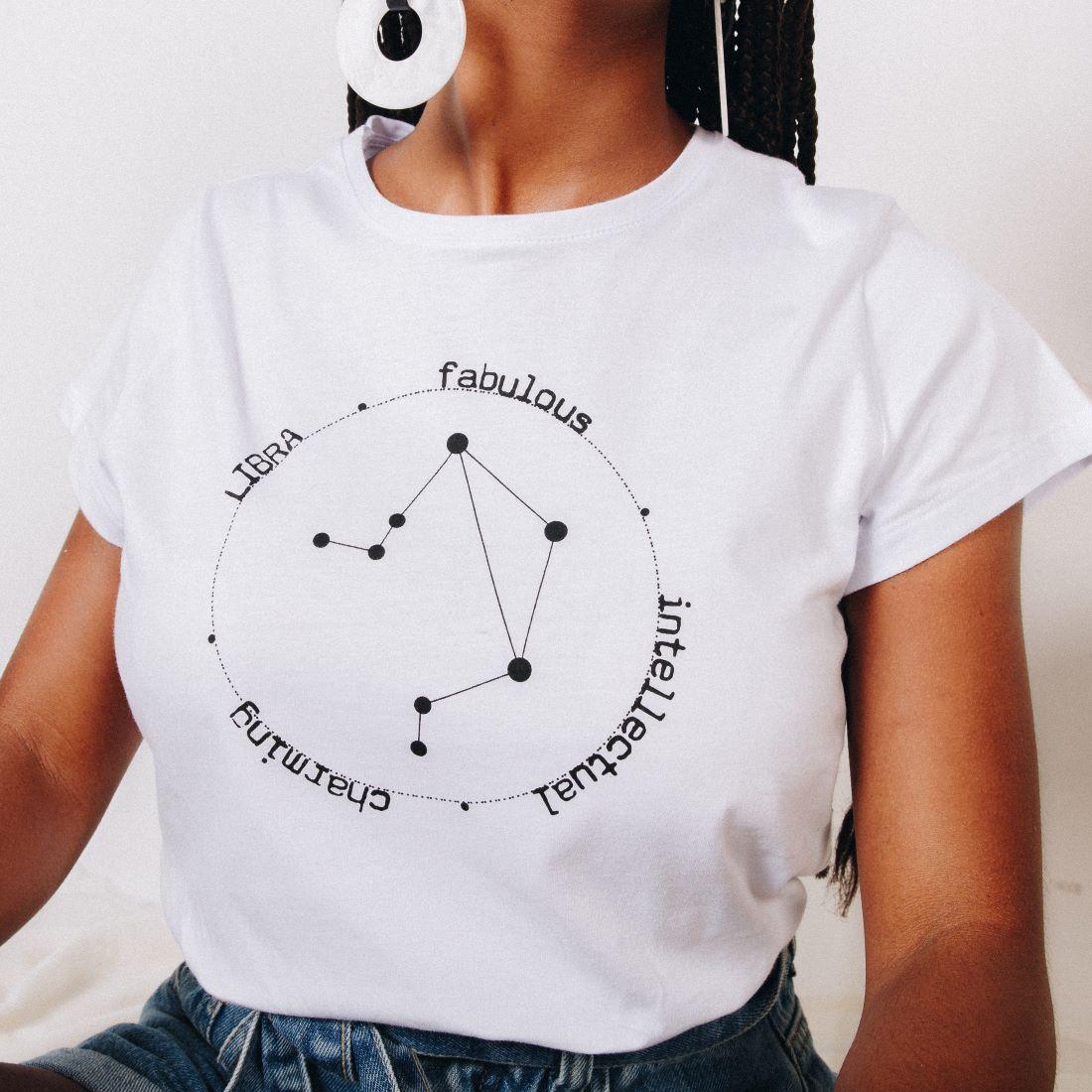 T-shirt Libra