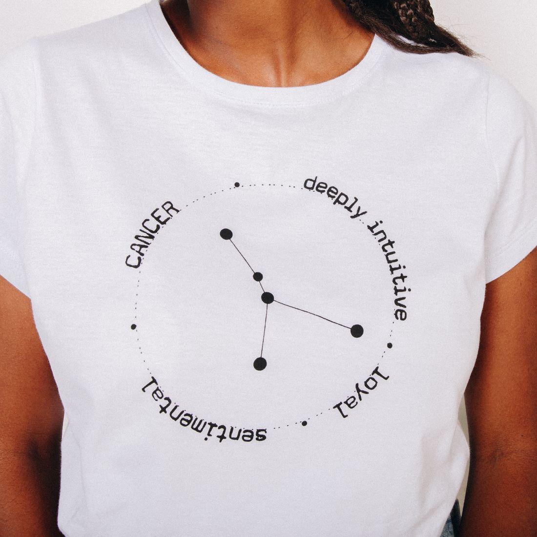 T-shirt Câncer