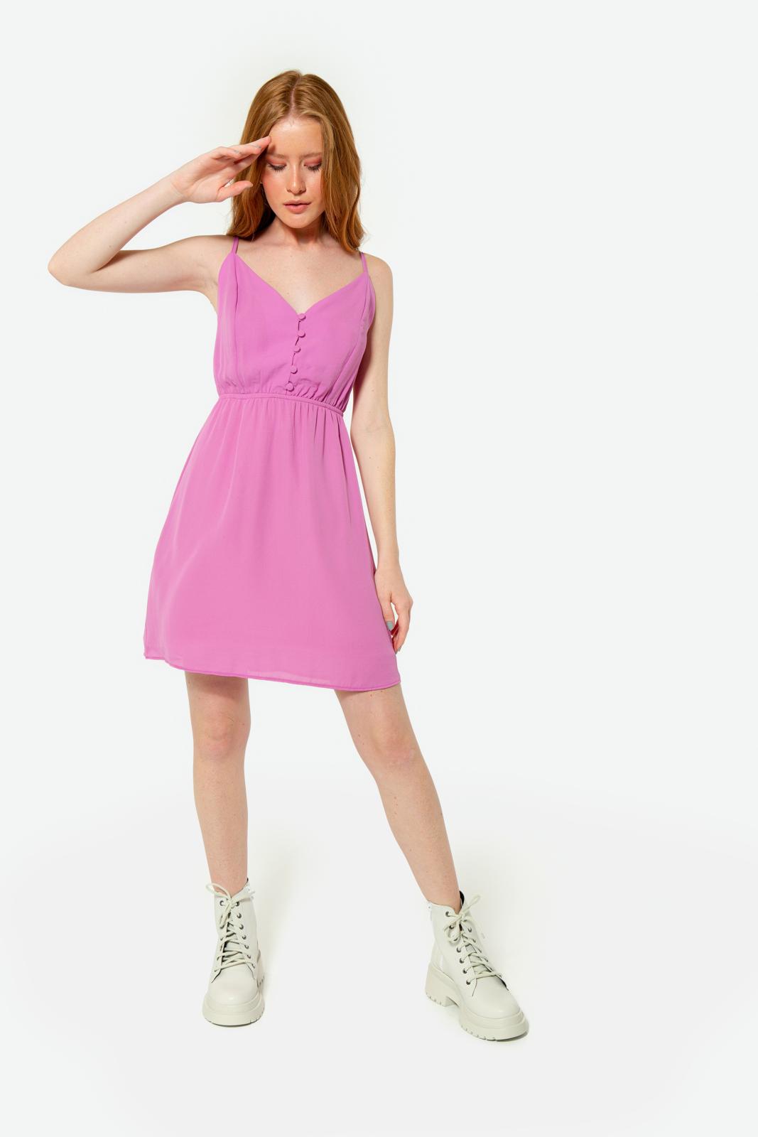 Vestido Serinah Curto Violeta
